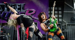 """""""The Halloweenie Ride Livescream"""", Steel Panther Foto: Evil Robb Photography, Loudwire"""